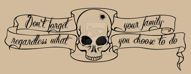 my streetlight manifesto lyric tattoo skull design