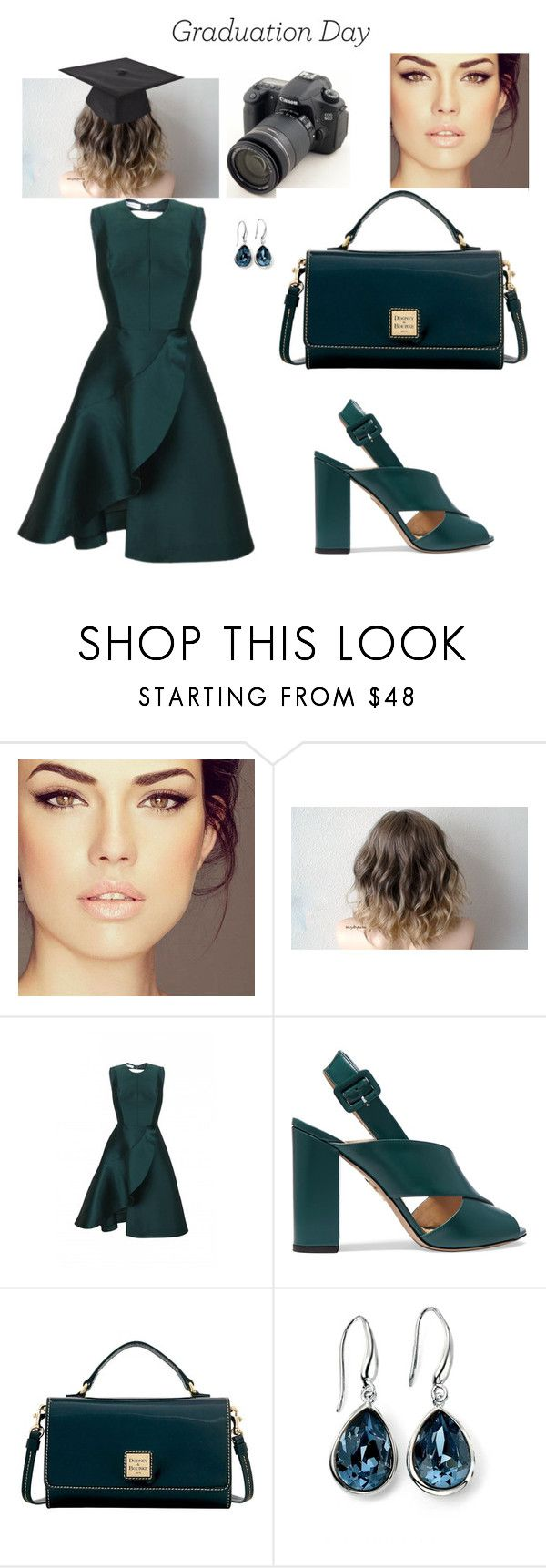 """""""Выпускной день Стиль"""" by huohu ❤ liked on Polyvore featuring Eos, Charlotte Olympia, Dooney & Bourke and Elements Silver"""