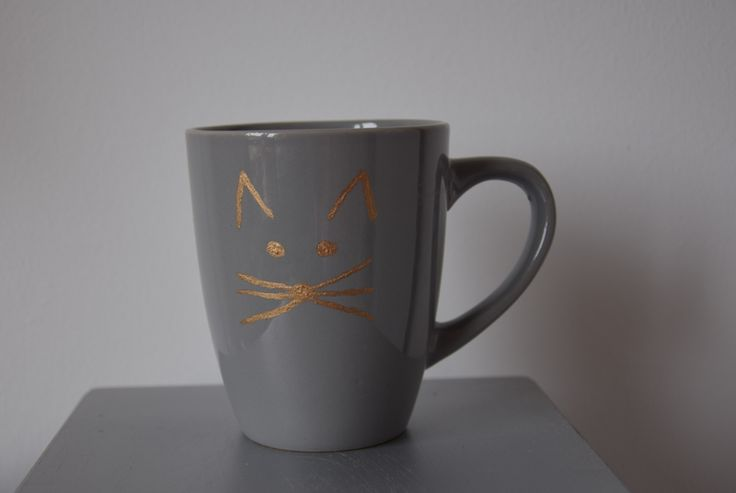 Cat mug DIY