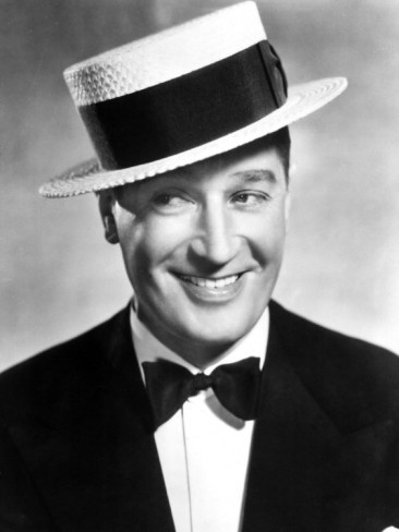Maurice Chevalier (1888-1972) - French actor, singer and entertainer. He is perhaps best known for his signature songs,