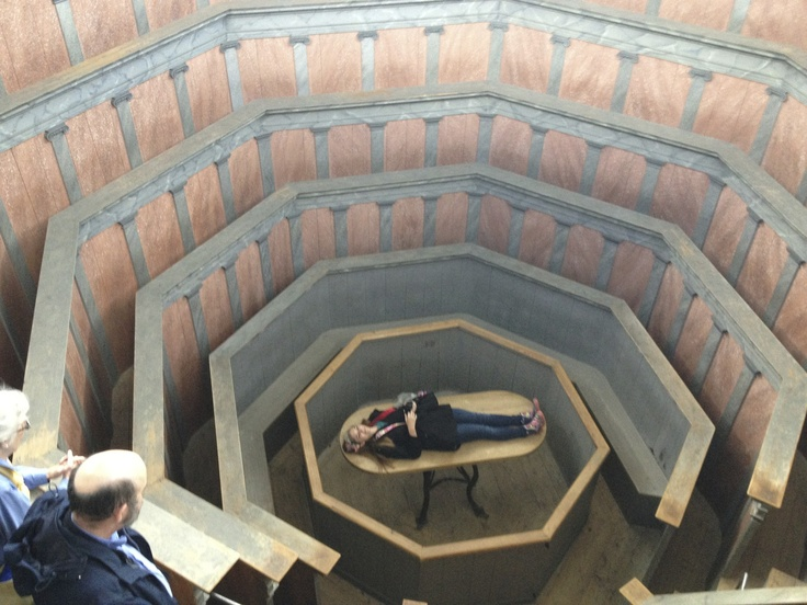 Anatomical Theatre in Museum in Uppsala