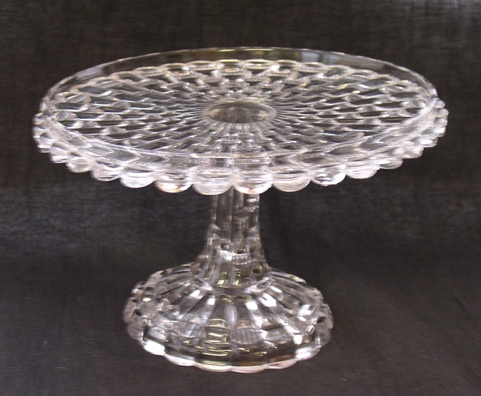 51 Best Images About Vintage Glass Cake Stands On