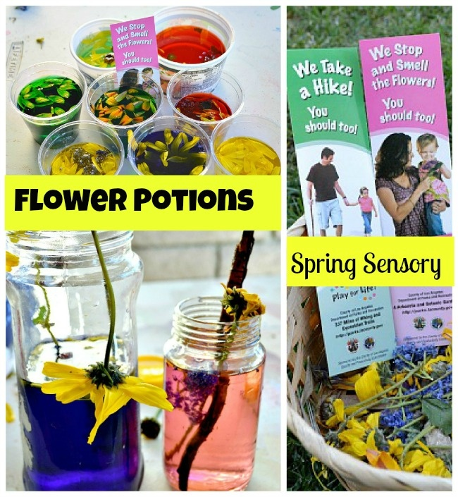 #spring Enjoy the outdoors. Pick Flowers. Make flower potions.#springactivities
