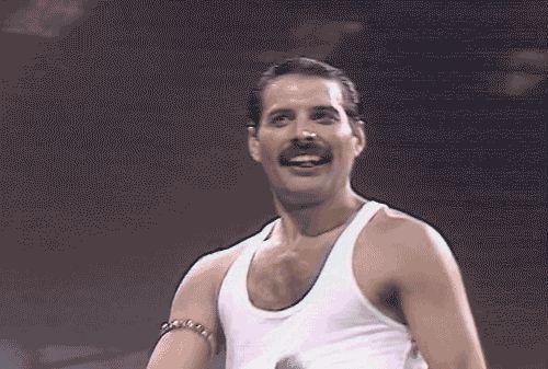 freddie mercury smiling   Freddie♥ - freddie-mercury Fan Art