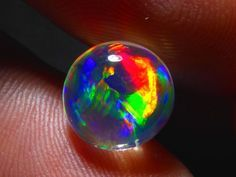 Mexican Fire Opal Stones 9 x 9 x 4mm 2.2 carats Auction #563560 Opal Auctions