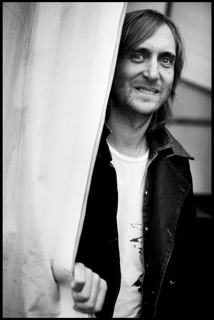 Pierre David Guetta (1967) - well renowned French DJ. Photo by Jesse Willems, 2010