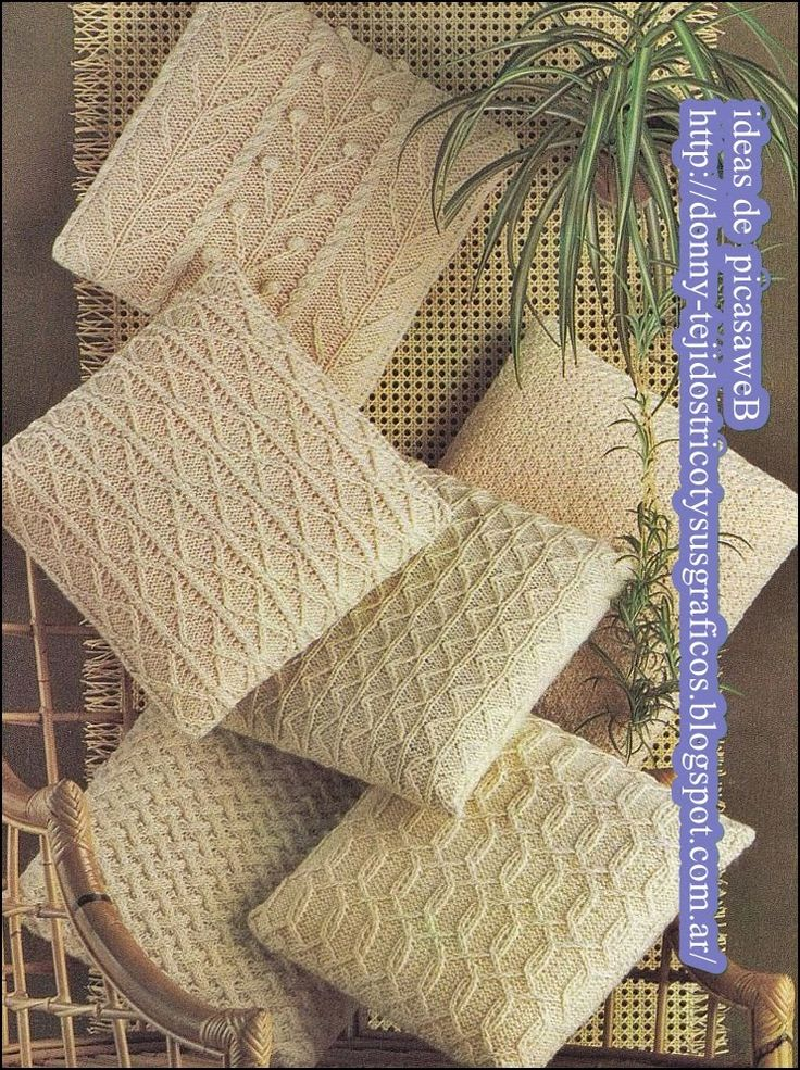 25 best ideas about almohadones tejidos on pinterest for Cojines a crochet
