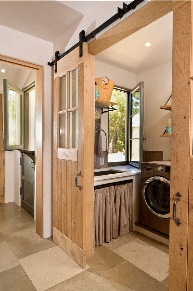 17 Best Ideas About Rustic Laundry Rooms On Pinterest