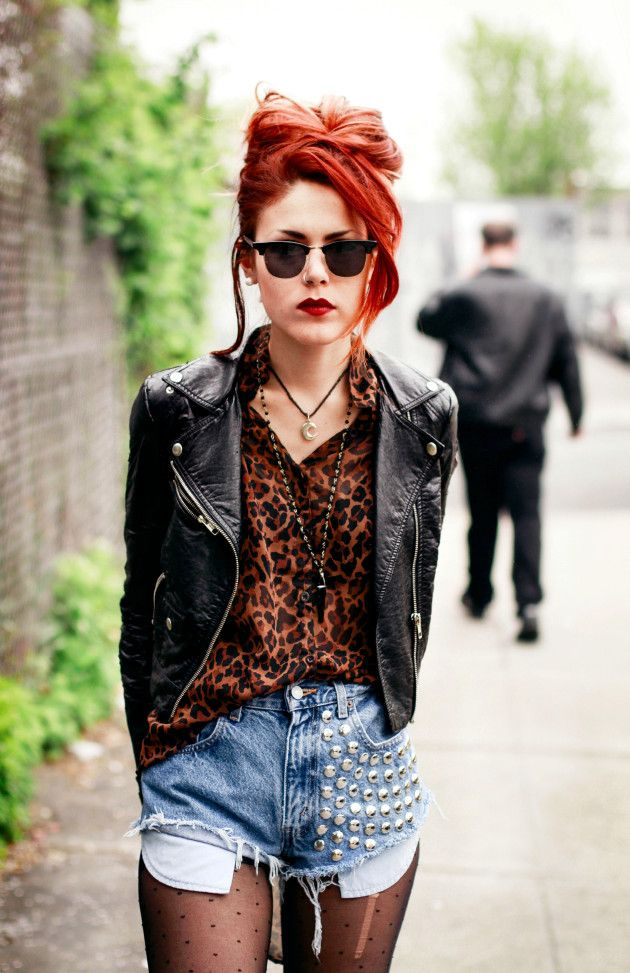 Grunge Style Woman / Le Happy