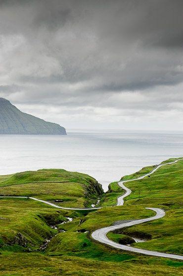 Faroes Island, Denmark #cyclingmemories #roadisthewayoflife