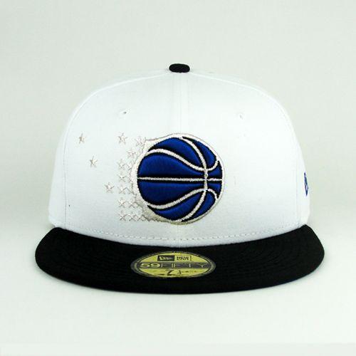 Orlando Magic hats    New Era Cap Orlando Magic White Royal New Era Hat