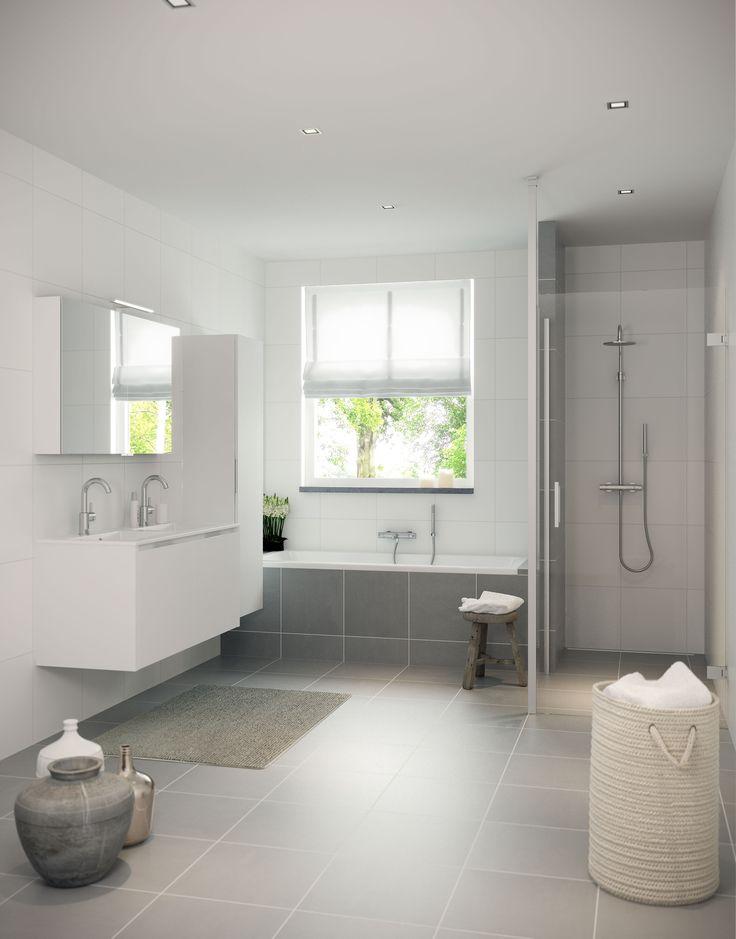 Sneak preview van de nieuwe bruynzeel badkamer serie matera leverbaar vanaf 1 1 2016 bruynzeel - Kleur moderne badkamer ...