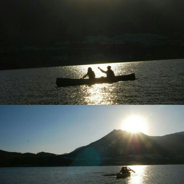 Canoeing Yang-san  south korea