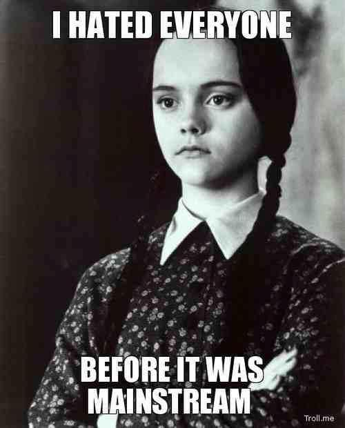 Wednesday Addams Meme Funny : Wednesday addams memes e cards and other scary stuff