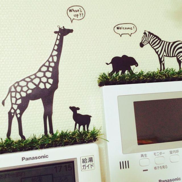 お手入れ不要のグリーンインテリア♡100均の人工芝をDIYしよう|MERY [メリー]