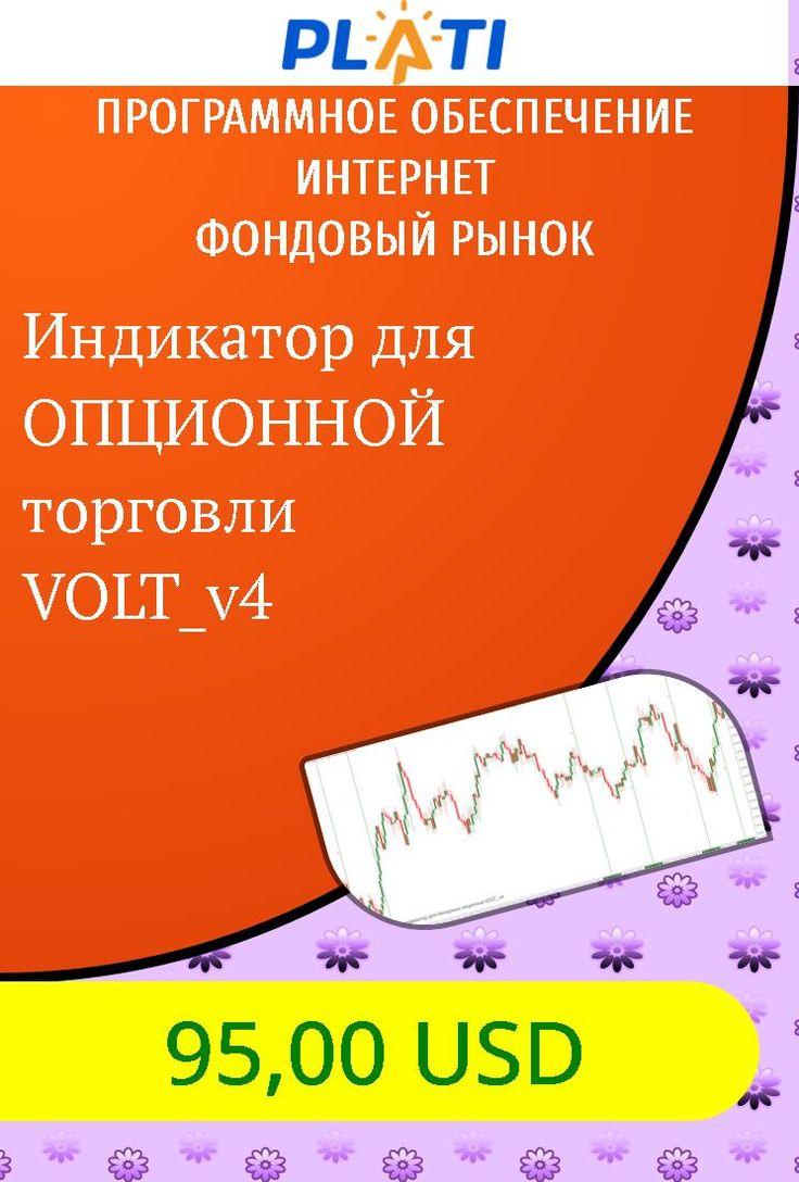 Индикатор для ОПЦИОННОЙ торговли VOLT_v4 Программное обеспечение Интернет Фондовый рынок