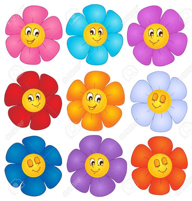 Imagenes De Flores En Caricatura - Imagen En Hd 3