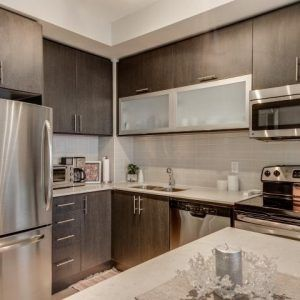 This Is Luxury Living At Couture Condos, Located In The Heart Of Downtown Toronto! This Unit Is Ideal For The Young Professional Or Couple. Being Located On A High Floor, You Will Enjoy The Unobstructed Views Of The City! With A Very Functional Open Concept Layout, This Unit Feels Larger Than It Actually Is And Features A Modern Kitchen With Granite Counter-Tops, Ceramic Back Splash & Double Sink. MLS: C3990119 ADDRESS: 3310-28 Ted Rogers Way STATUS: For Lease PRICE: $2,100/M BEDS: 1 BATHS…