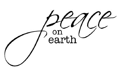 desert diva: Peace on earth