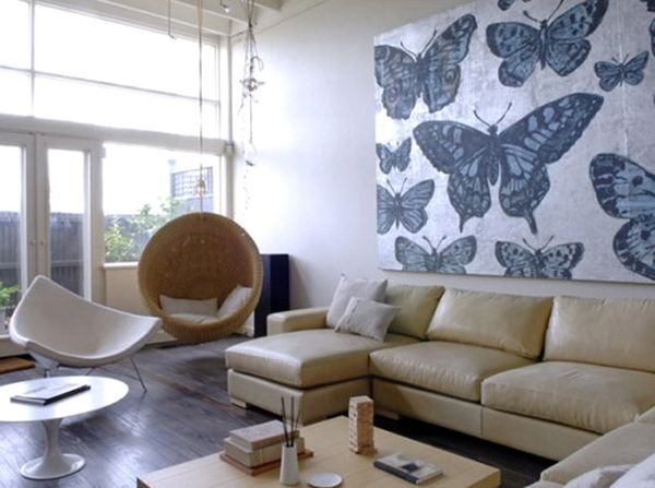 butterfly wall interior paint