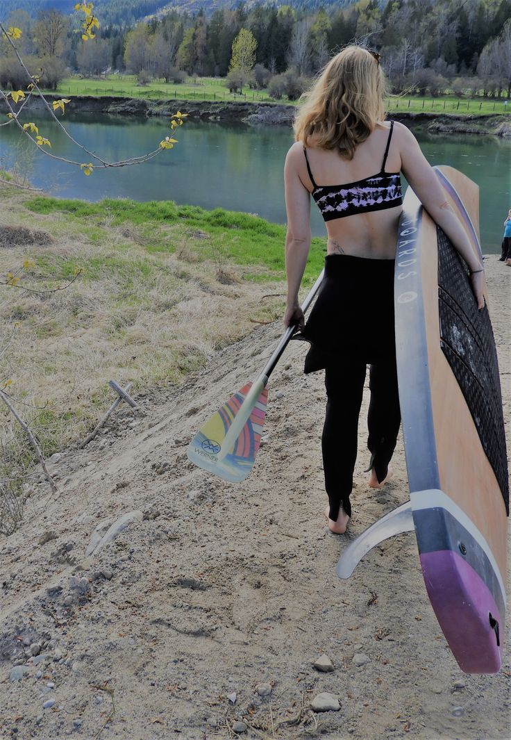 Spring is here and so is the stand  up paddle board season.  www.knottyboards.ca Paddle boards, wood  SUP Fitness  Sup yoga clothing