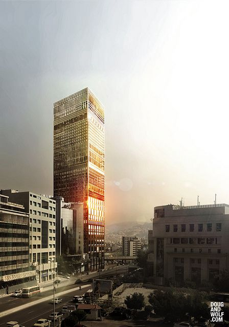 Y. Thome - Beirut, LB - Office Tower | Flickr - Photo Sharing!