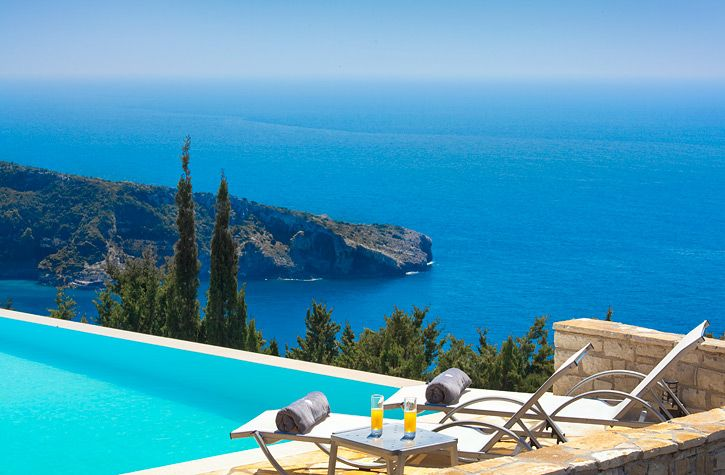 Avlaki Bay House, Greece, Paxos