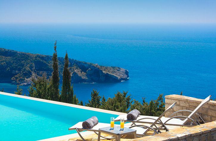 Avlaki Bay House, Greece, Paxos