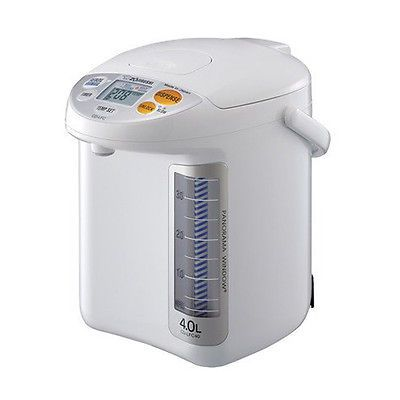 Other Small Kitchen Appliances 20685: Zojirushi Cd-Lfc40 Panorama Window Micom Water Boiler And Warmer, 4.0 L, White -> BUY IT NOW ONLY: $145.95 on eBay!