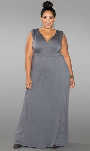 trendy maxi dresses plus size
