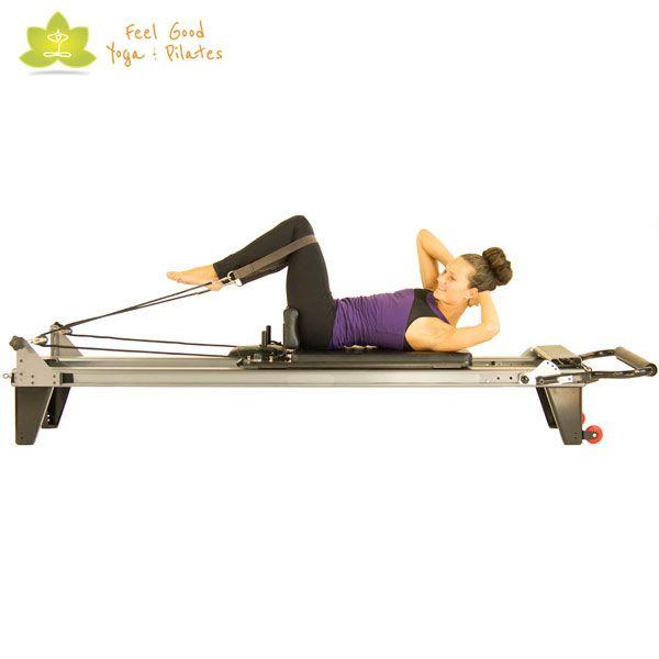 reverse abdominals pilates reformer exercise variation