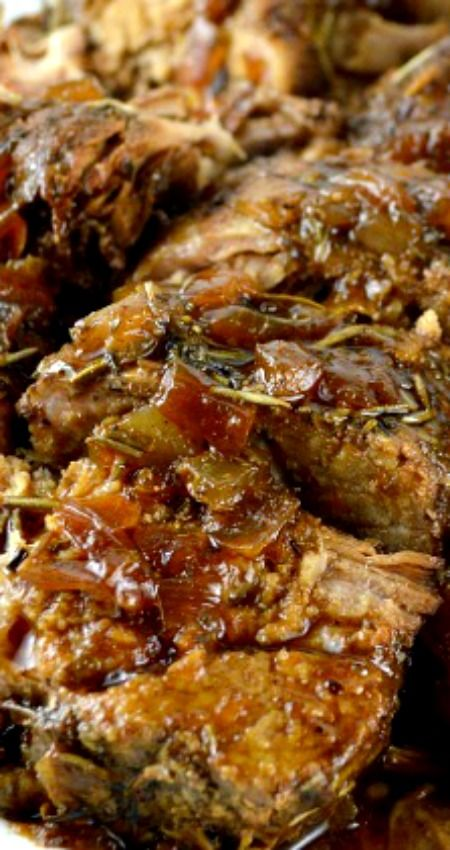 The Best Crock Pot Pork Tenderloin ~ This recipe makes an incredibly tender, moist,flavorful pork tenderloin with a fabulous pan sauce/gravy... All from scratch-no canned soup!