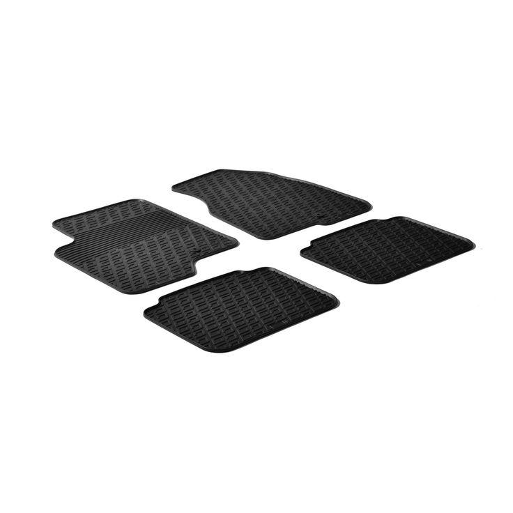 Gledring 2011-2015 Chevrolet Captiva Custom Fit All Weather Heavy Duty Car Floor Mats, Black