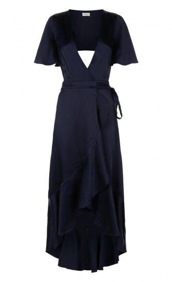 Parrot Wrap Dress