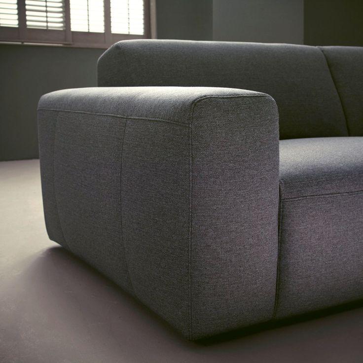 Wilna Sofa mit Longchair links in Stoff kurz - BeType ...