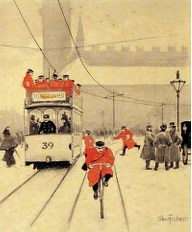 Post officers - Paul Fischer - 1900