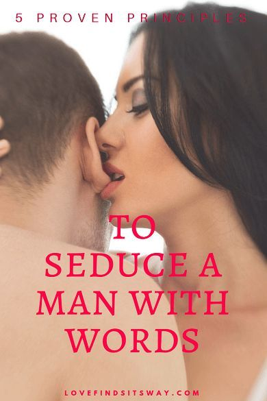 Verbal seduction tips