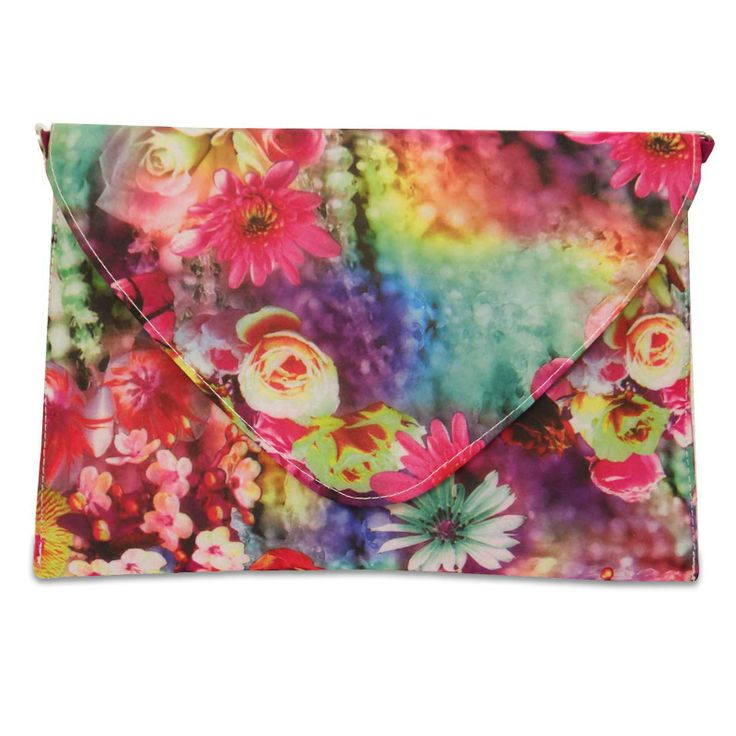 Beautiful Velvet fabric woman Envelope clutch purse /handbag. ..this is img