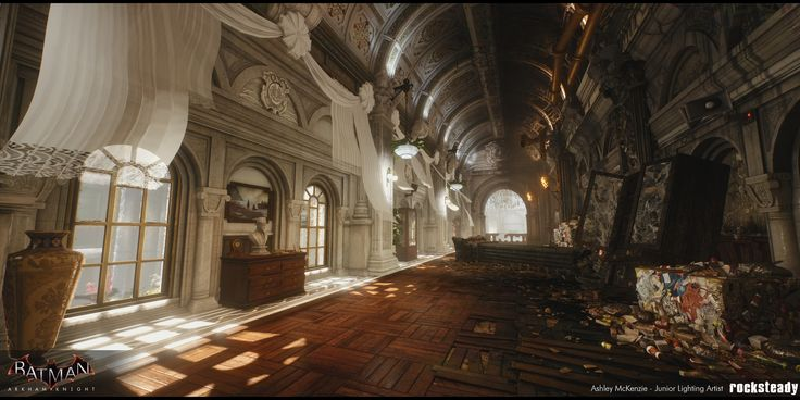 ArtStation - Batman: Arkham Knight - A Flip of a Coin DLC Lighting, Ashley McKenzie