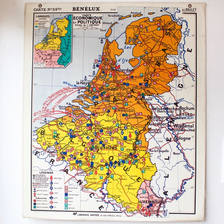 56 best cartes anciennes images on pinterest antique maps carte scolaire ancienne n59 benelux french vintage school map benelux 185 fandeluxe Gallery