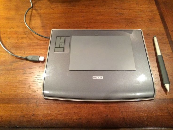 $35.00 Wacom Intuos 3 Graphics Tablet PTZ-431W Wireless Pen #Wacom