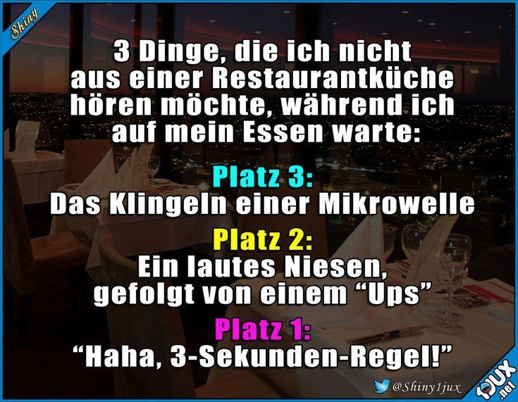 Restaurantbesuch des Grauens #eklig #schwarzerHumor #Spruch #Witz #Witze