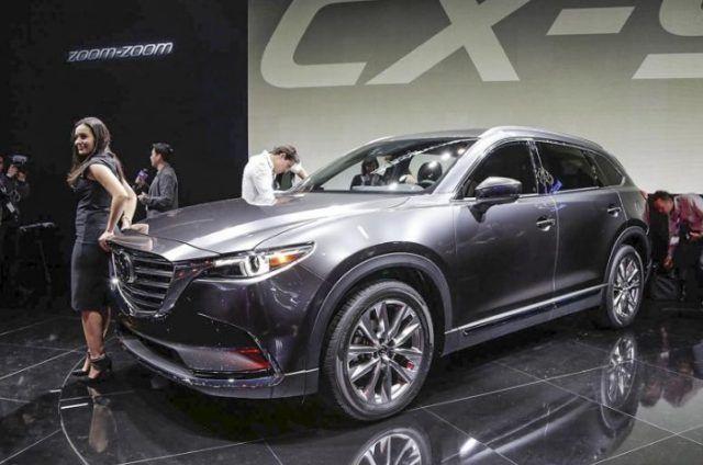 2021 Mazda Cx 9 Will Be Unveiled Next Year Mazda Cx 9 Mazda New Suv