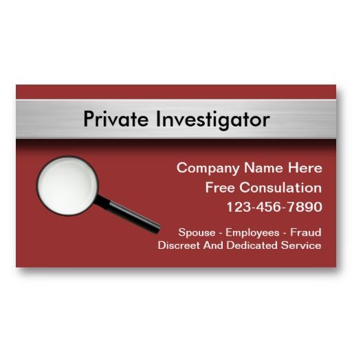 business investigation The private investigator course penn foster offers online helps students prepare the skills they need as they learn how to become a private investigator.