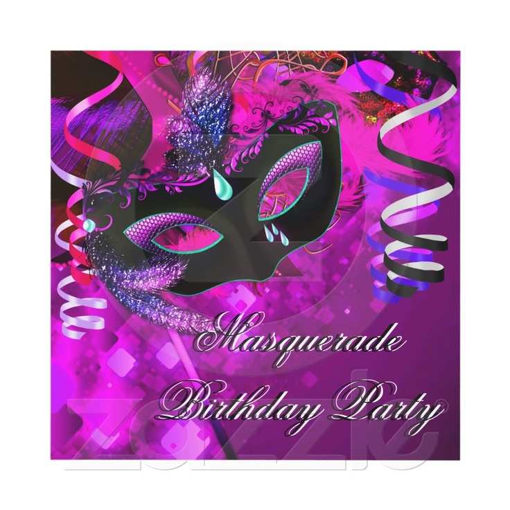 10 best Masquerade 16th birthday images on Pinterest | Mask party ...