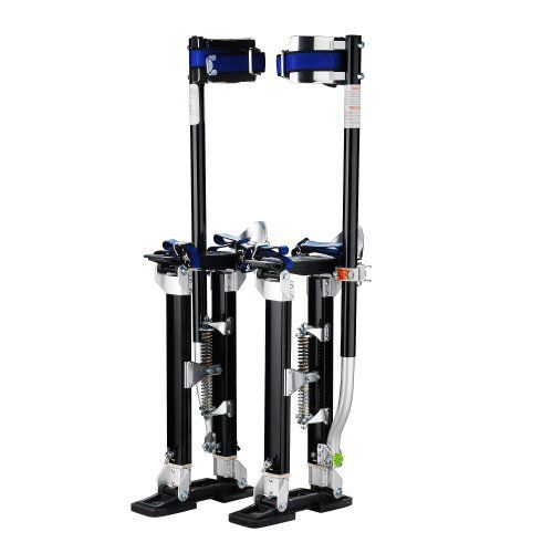 """Pentagon Tool """"Tall Guyz"""" Professional 18""""-30"""" Black Drywall Stilts For Sheetrock, Painting, or Cleaning by Pentagon. $89.95. If you are in the market for a set of drywall stilts, stop looking! Pentagon Tool is an industry leader in drywall supplies and accessories. They sell more lifts, stilts, and accessories than most other sellers combined. You are bidding on a set of NEW premium grade Drywall Stilts. They are perfect for drywall painting, electrical, drop ceil..."""