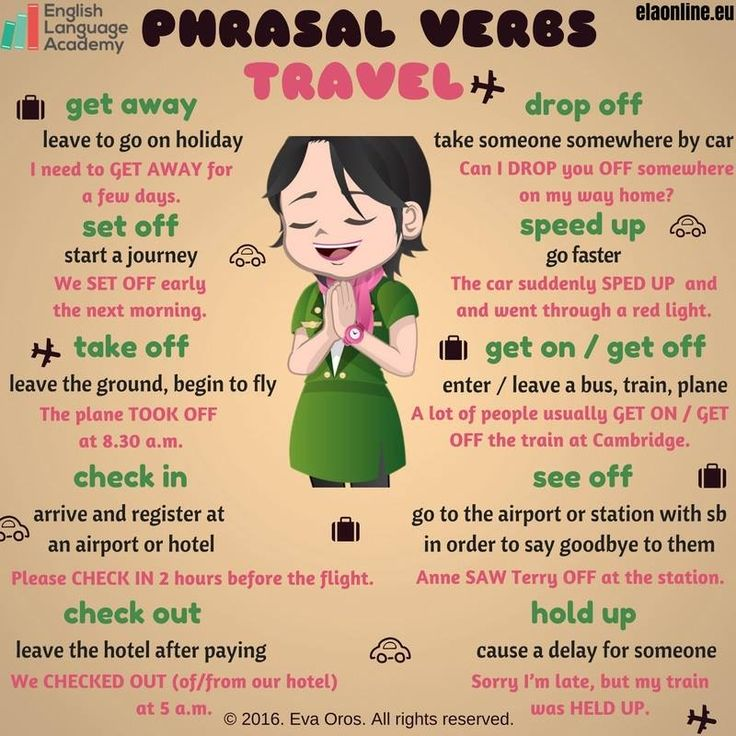 Phrasal Verbs: Travel More