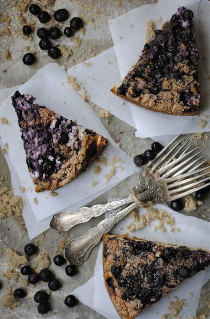 How To: Simplify: Blueberry Cream Cheese Coffee Cake