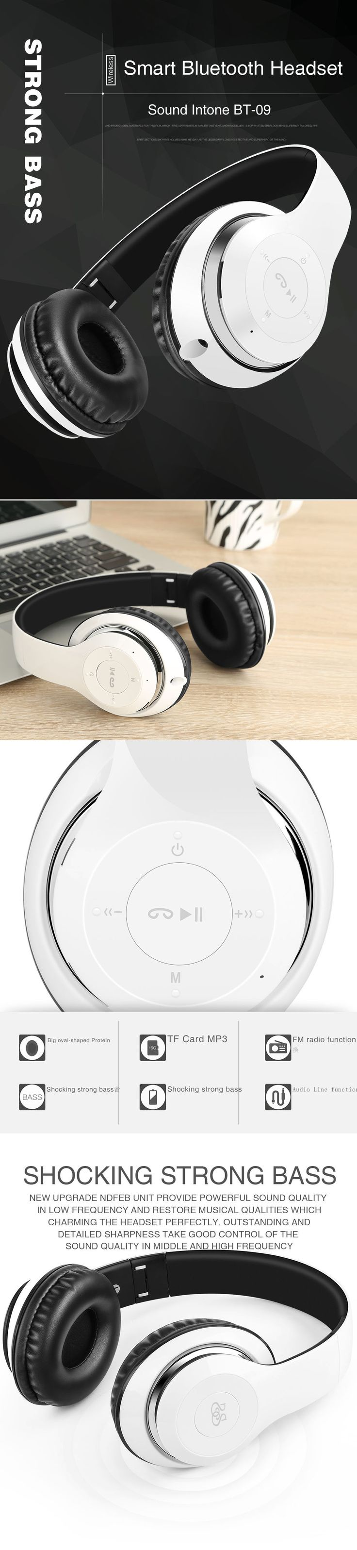 Sound Intone BT-09 Bluetooth Headphones Wireless Stereo Headsets earbuds with Mic Support TF Card FM Radio for iPhone Samsung   http://www.dealofthedaytips.com/products/sound-intone-bt-09-bluetooth-headphones-wireless-stereo-headsets-earbuds-with-mic-support-tf-card-fm-radio-for-iphone-samsung/
