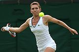 'For a player with just two wins at Wimbledon prior to this year's Championships, Simona Halep's stock has never been higher. Those who witnessed her 6-2, 6-2 victory over Brazil's Teliana Pereira will no doubt confirm that the Romanian justifies the hype.' http://www.wimbledon.com/en_GB/news/articles/2014-06-24/halep.html